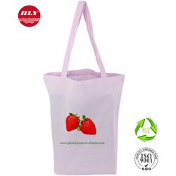 Wholesale Reusable Colorful Supermarket Shopping Cotton Cloth Bag