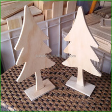 Wooden Tabletop Decorative Christmas Tree Ornament Kit