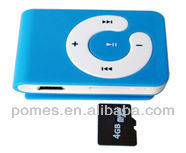 classical card reader clip mp3 player with low price