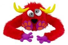 El diseño del oem! Fuzzy sombrero de títeres monstruo cap divertido monstruo peludos