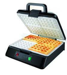 Ceramic Coating 4 Slice Belgian Waffle Maker 2016 New for Family Use
