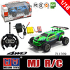 1/24Th Scale RC Electric Powered Short Truck high speed mini rc car