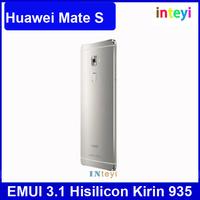 Original Huawei 5.5 inch 1920*1080 Mate S Cell phone 64GB Kirin 935 Dual SIM 3GB RAM Android 5.1 8MP+13MP Camera