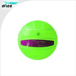 5 inch Green toy bouncing custom pvc volleyball ball