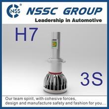 NSSC Lifetime warranty high quality 12 24 volt tuning car led headlight h7 6500k