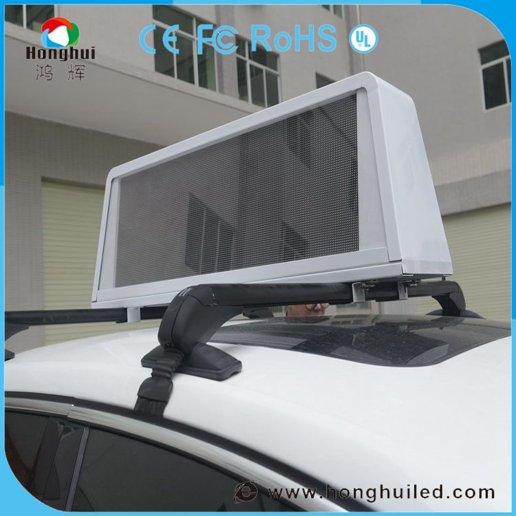 China panel led-anzeige p5/p6 outdoor taxispitzen led-bildschirm