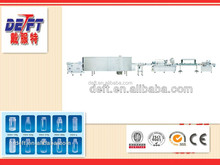 Arranging Washing Sterilizing Drying mineral water bottle filling capping labeling machines