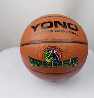 Best price pvc laminated basketball for training
