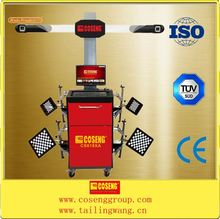 wheel alignment used in automobile and motorcycles