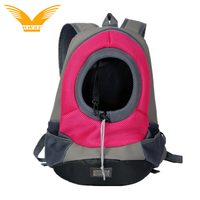 Outdoor comfortable dog carry backpack