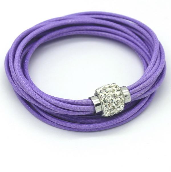 Бесплатная доставка, Оптовая продажа бренд искусственная кожа упаковка браслеты женская многослойные красный браслет браслет манжета