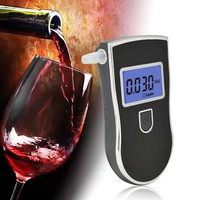 2015 new patent alcohol test machine / Fashion alcohol meter with blue backlight for drive safety