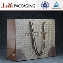 Hot sale beautiful ISO certificate composite wholesale paper shopping bag