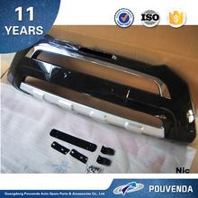 ABS Black Front Bumper For Hyundai Santa fe 2012 ix45 Front bumper guard plate ( Original Type) Auto accessories from Pouvenda
