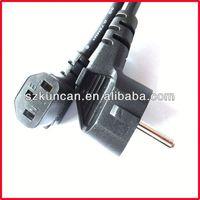 ho3vvh2-f power cord 1.5m 3m Black Grey White ROHS