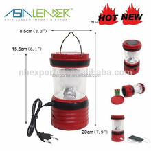 portable high lumen camping solar led lantern esl