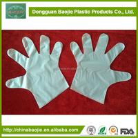 Disposable Transparent Gloves Biodegradable Plastic Gloves For Sensitive Skin