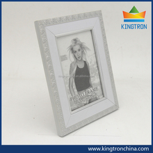 Best -selling plastic PS photo frames with nice elegant white color