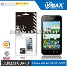 Low Price Vmax screen protector for LG optimus black p970 oem/odm (High Clear)