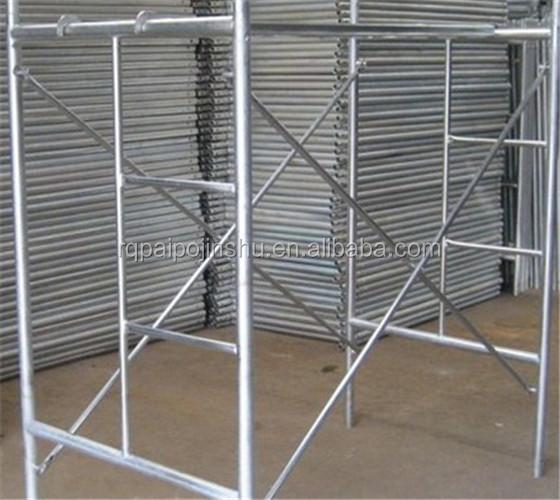 Steel Scaffolding Manufacturers : Hot sale frame scaffolding carbon steel scaffold