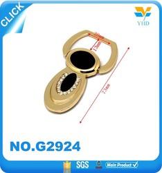 leather shoulder accessories gold metal bag parts wholesale