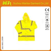 Breathable & 100% Waterproof Hi Vis Jacket