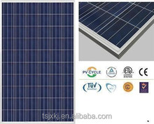 25 years warranty A grade low cost 250w high quality solar panels