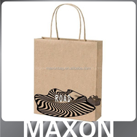 China supplier new style luxury shopping bag white kraft paper bag for store