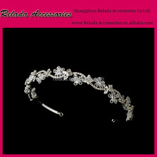 Gorgeous Beautiful Rhinestone Crystal sparkling woman Headband hair braided princess headpiece for pretty girls