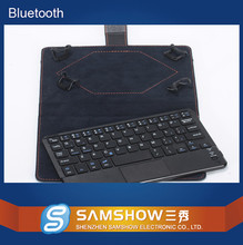 "Touchpad Portfolio Case Bluetooth Keyboard Folio Style Case Compatible With 9"" To 10"" Tablets Keyboard For Windows Andorid"