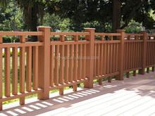 wpc waterproof wooden fencing for garden,low garden fencing