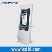 42 inch Stand Alone Multi Touch Screen Kiosk / Interactive all in one pc Kiosk