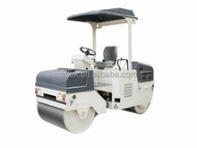 2015 New type double drum OKR-3.0T 3 ton mini ride on types of road roller