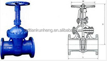 Flanged Stainless Steel Gate Valves Stem Valve