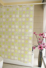 Popular Promotional door pvc shower curtain,waterproof pvc shower curtain