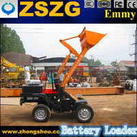 300KG radlader China (ZL03,CE approved, battery wheel loaders for sale)