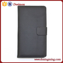 high quality wallet stand flip leather cover for Sony Xperia C S39h