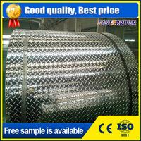 Aluminum checkered plate 5 bar pebble embossed aluminum sheet aluminum trailer flooring