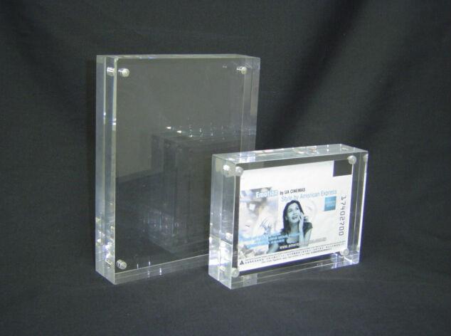 Best sale clear acrylic photo cube frames wholesales