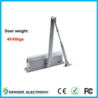 Remote control automatic door opener and closer