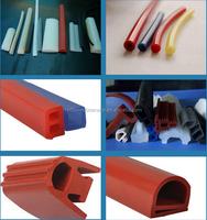 high flexibility silicone rubber extrusion