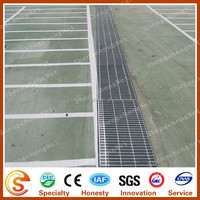 Anti-slip Floor grates Galvanized steel grating for gully