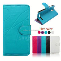 Online shopping wholesale cell phone case accessory for ZTE Grand X Max Z787 leather cover
