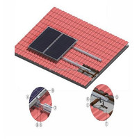Tile Roof Solar Energy Mounting System