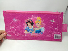 princess pattern kid's pencil bag pencil case