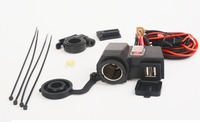 Motorcycle Waterproof Dual USB Power Port 5V 2.1A