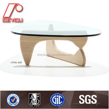 Bent Glass Coffee Table, Modern Design Glass Center Table, Modern Coffee Table CT-010