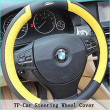 Size Can Be Customized Leather Steering Wheel Cover/Car Steering Wheel Cover/ color steering wheel covers