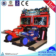 Crazy and stimulate amusement game game racing motorbike
