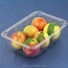 2015 New Design Large party plastic food tray with lid